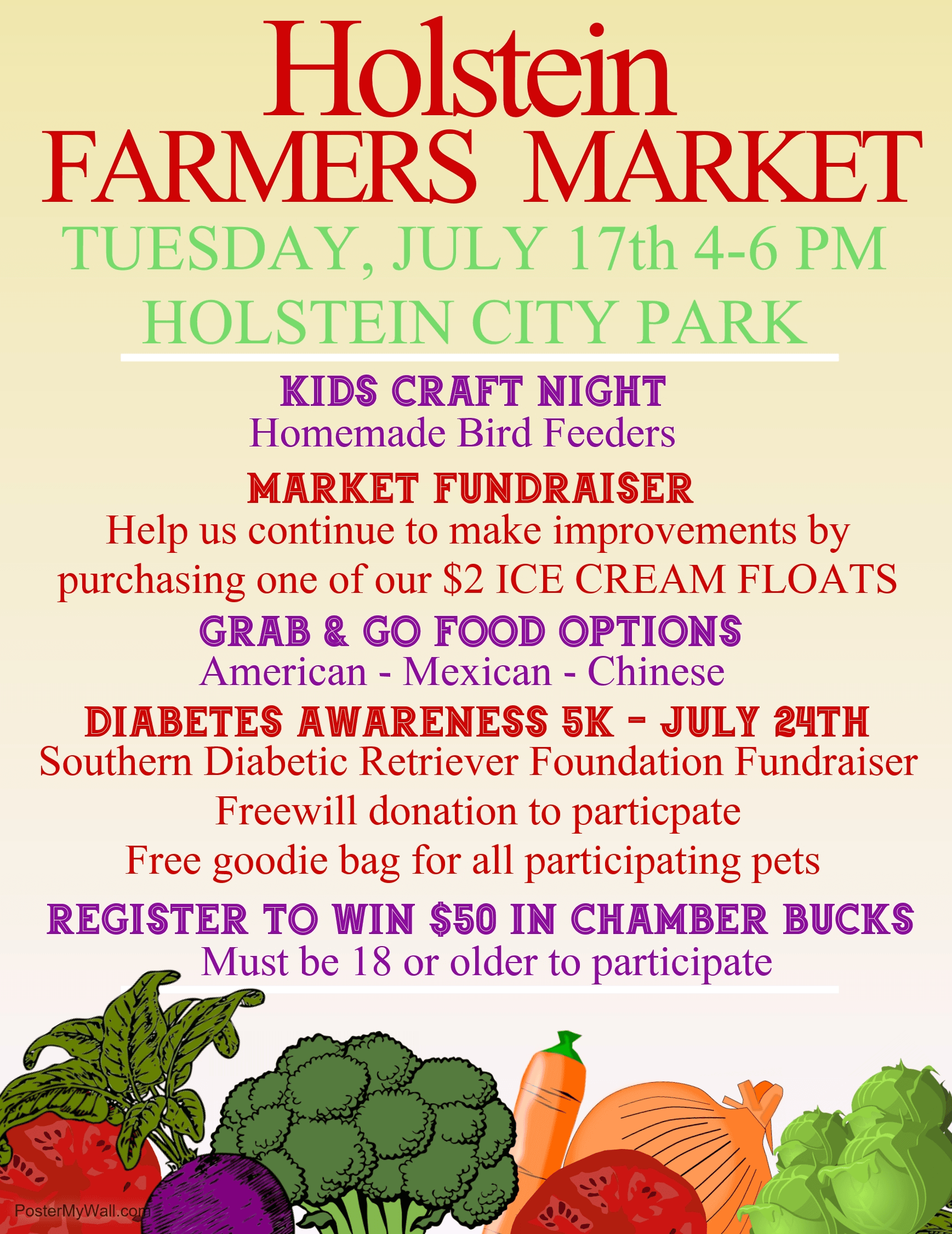 July 17th Farmers Market