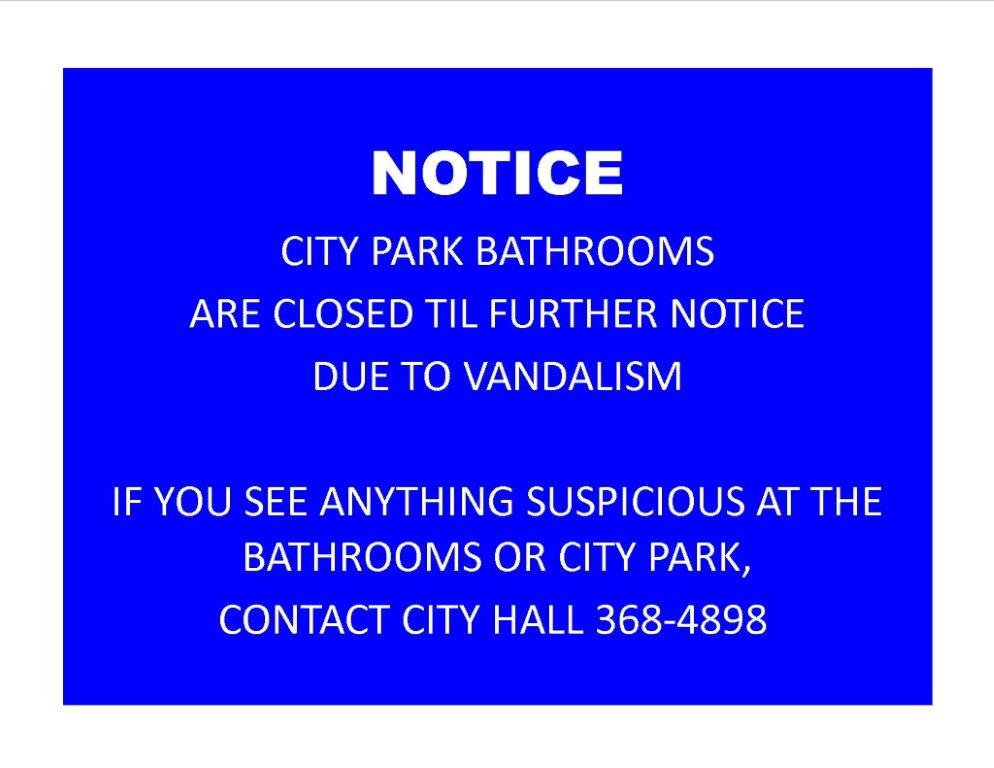 Notice-bathroom FB